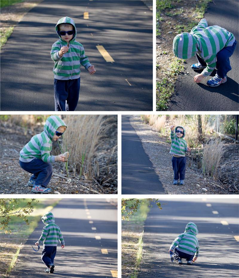 Boy on a Walk