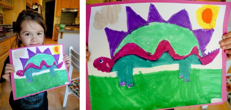 Abby's Dinosaur