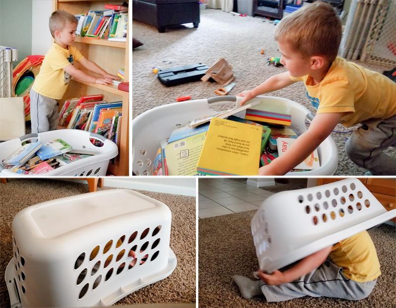 Laundry Basket Play