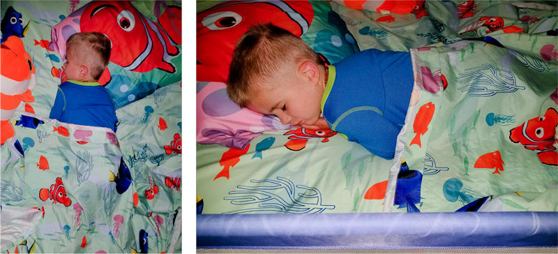 When He Wakes, He Will be 3