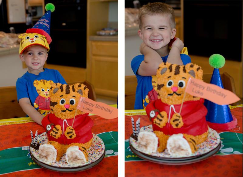 Luke's Birthday Cake
