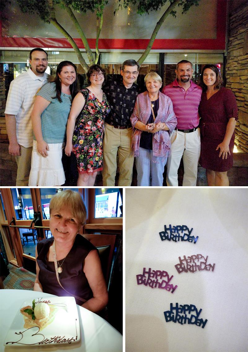 Mom's 70th Birthday Dinner