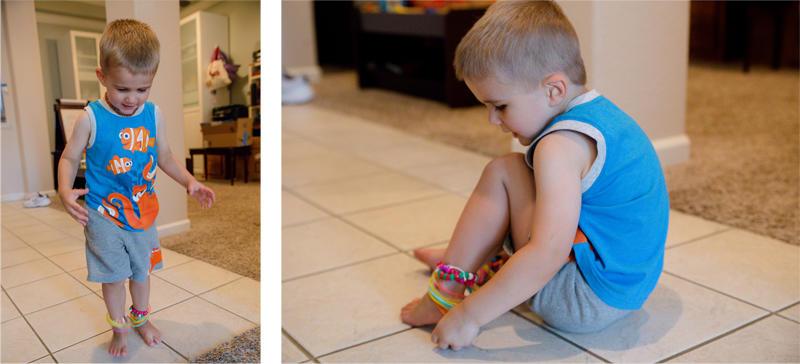 Luke and Bracelets