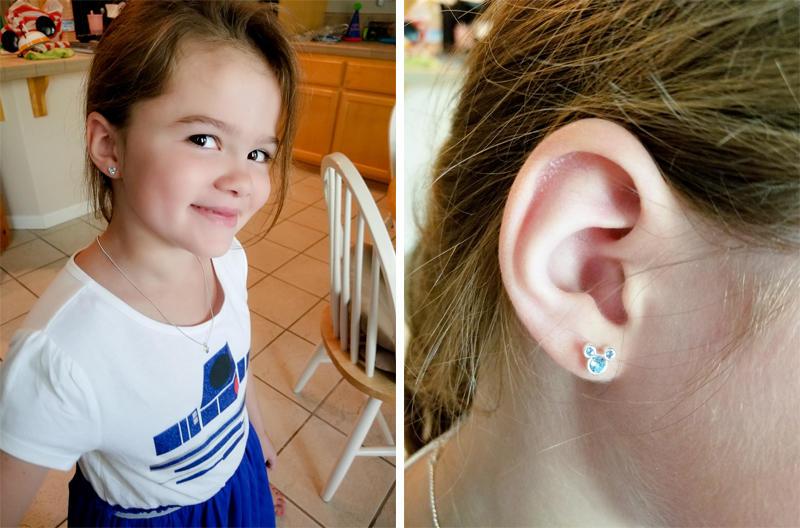 First Earring Change