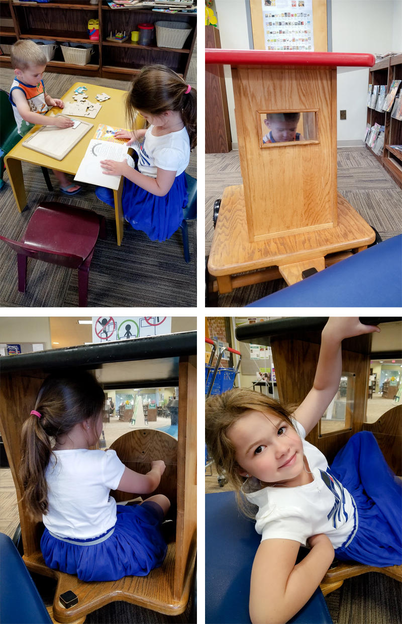 Playing at the Library
