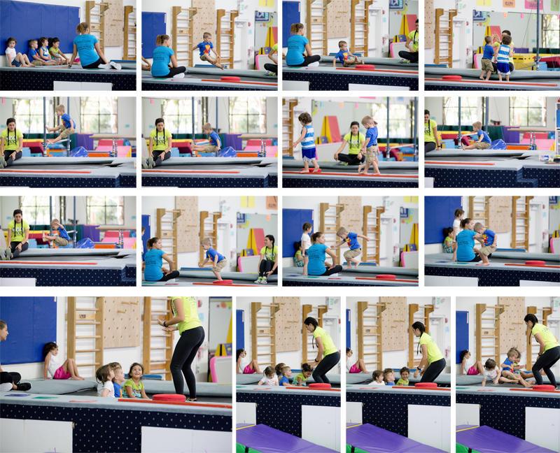 Luke Gymnastics Trampoline