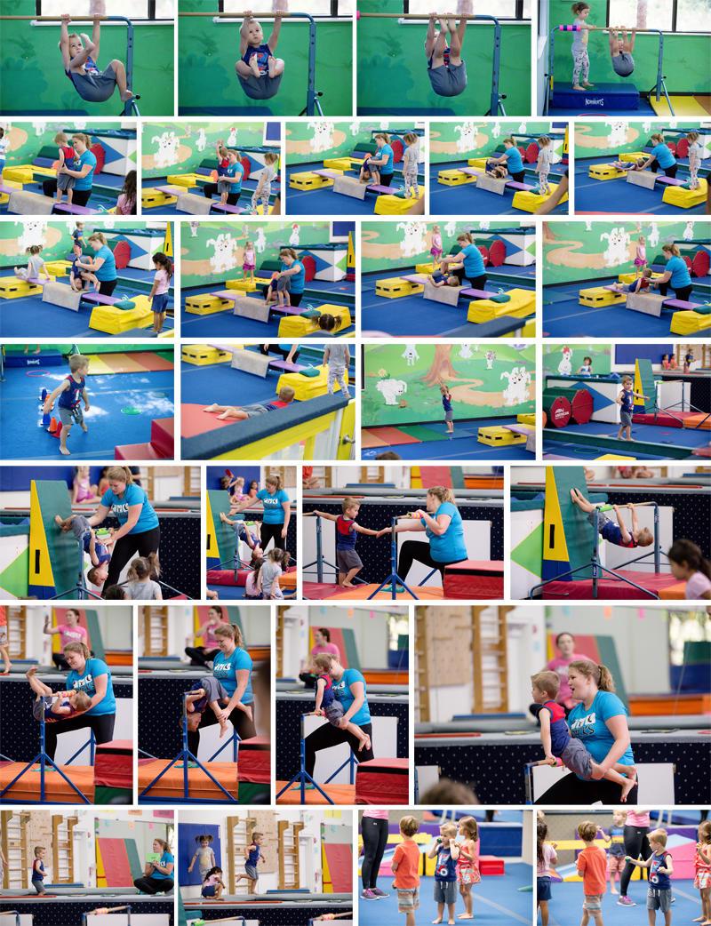 Luke's Gymnastics Class
