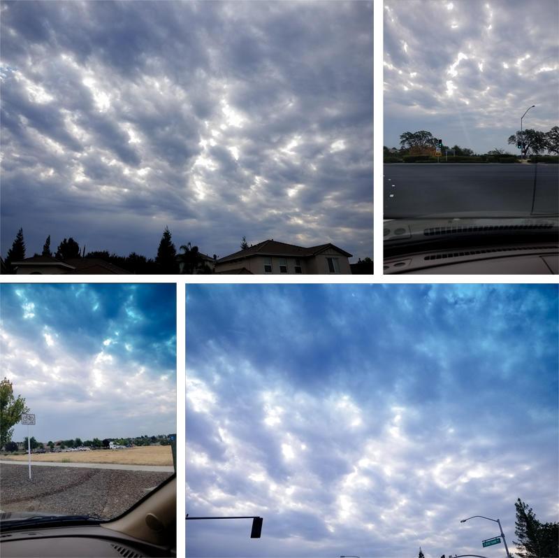 Beautiful Morning Clouds