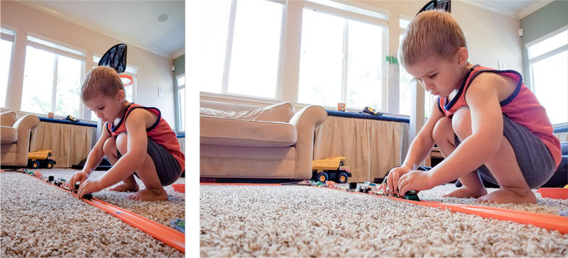 Building the Hot Wheels Track