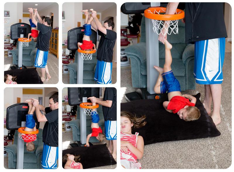 Luke Through the Hoop
