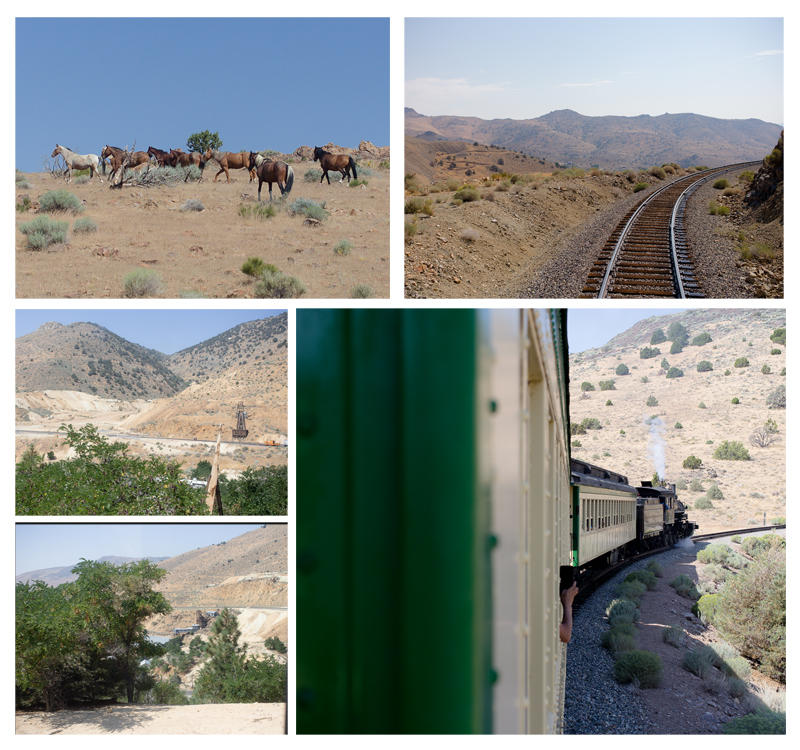 Views from the Virginia City Train