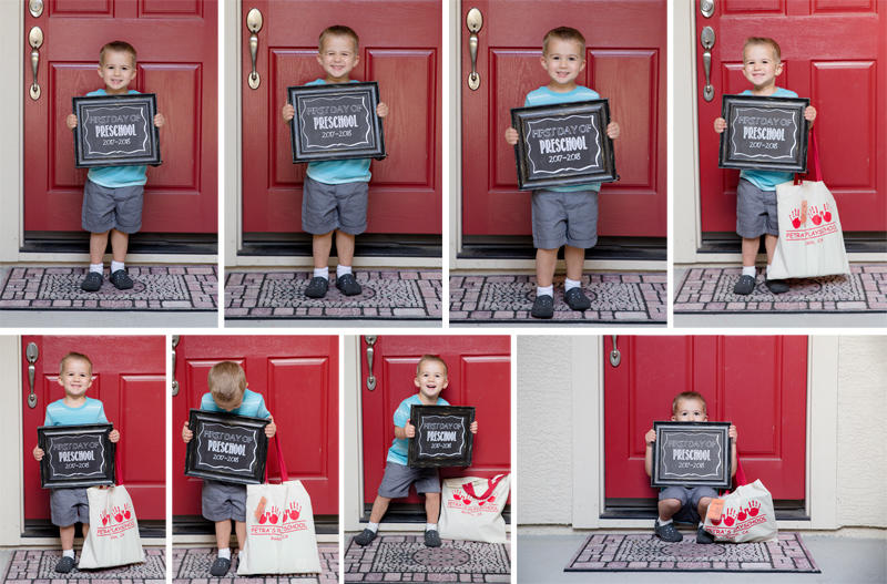 Luke's First Day of Preschool