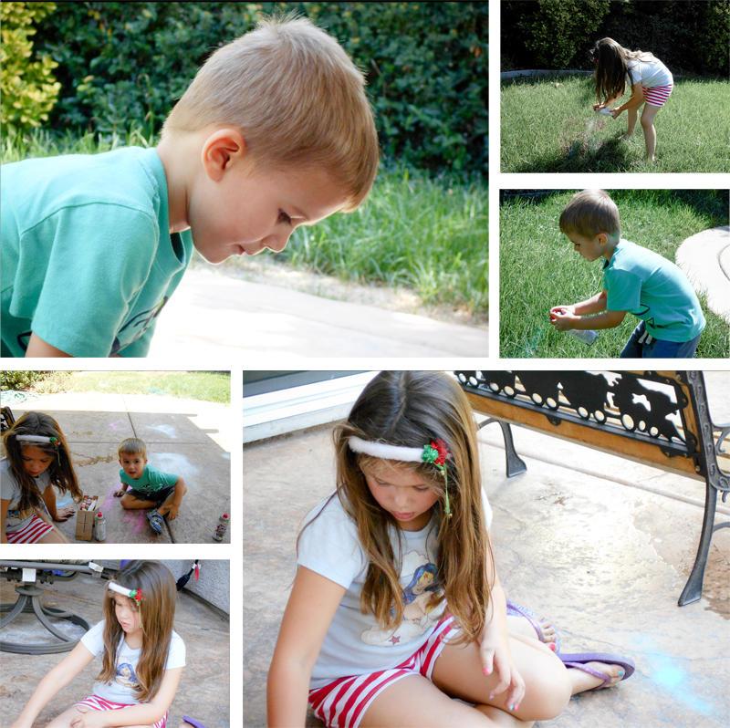 Backyard Play at Grandma Dana's