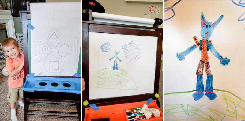 Kids' Easel Art