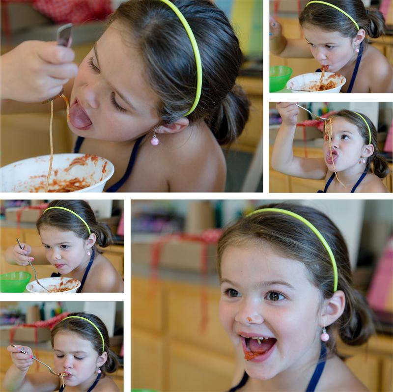 Abby's Spahetti Mess