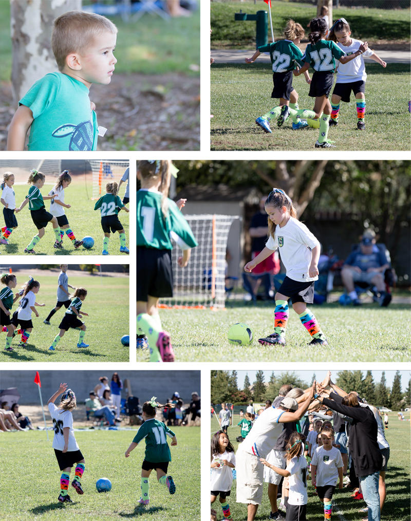 Abby's Soccer Game