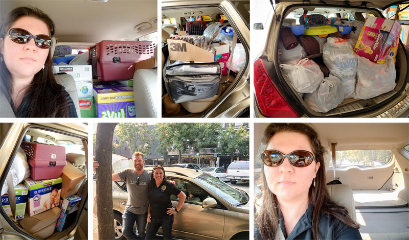 Donations for Tubbs Fire Victims