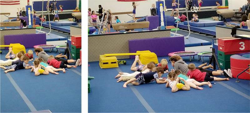 Gymnastics Circle Time