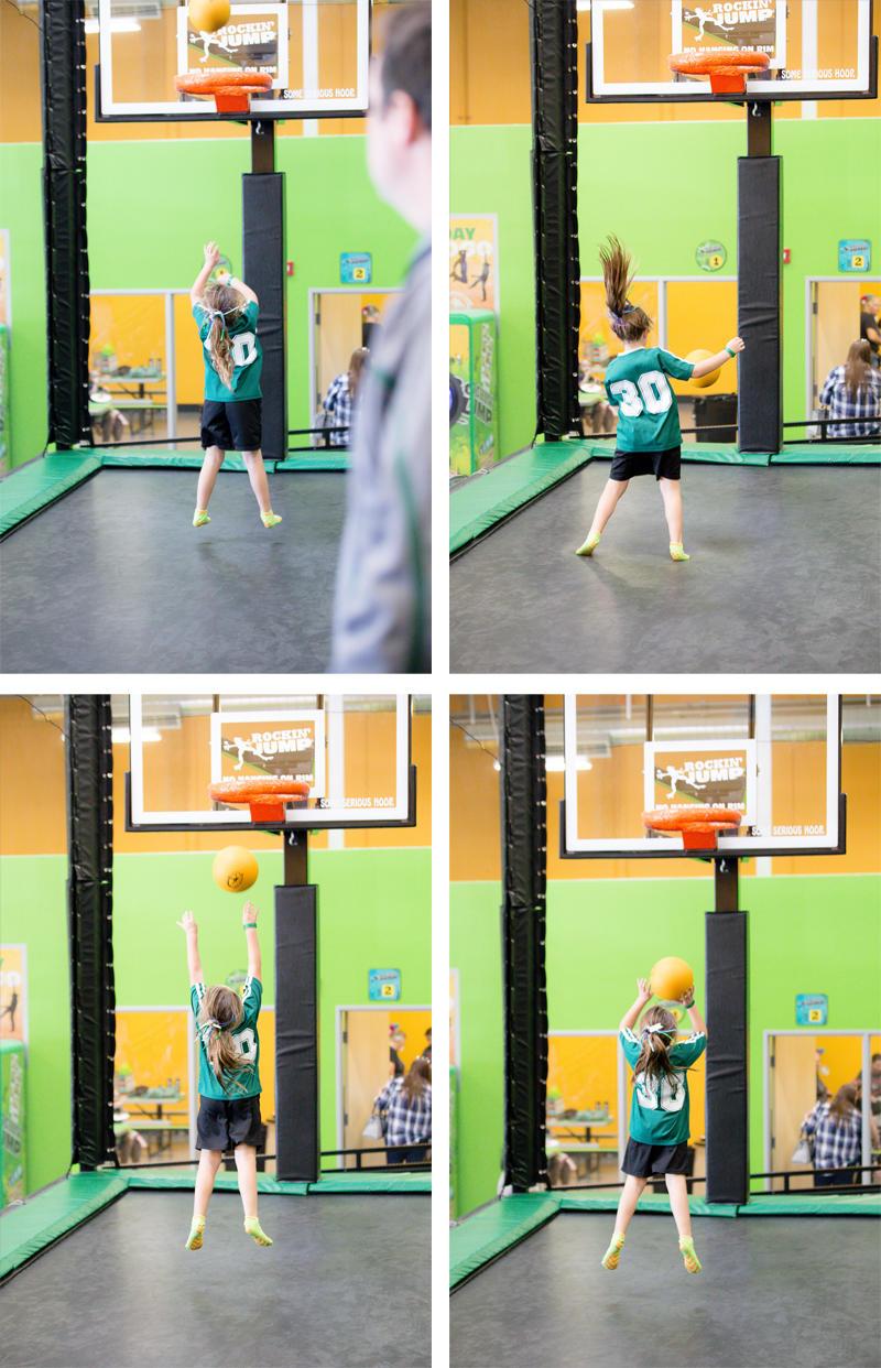 Bouncing Basketball