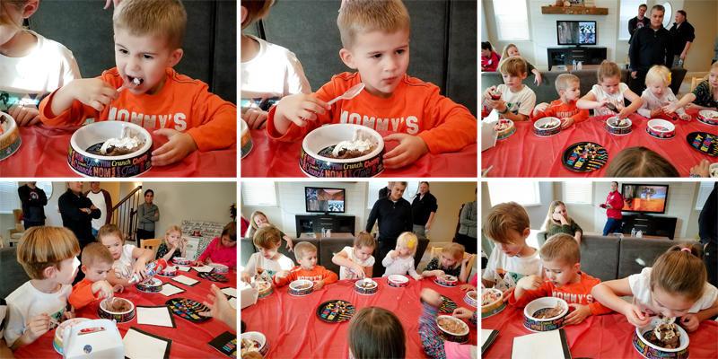 Birthday Party Ice Cream Sundaes