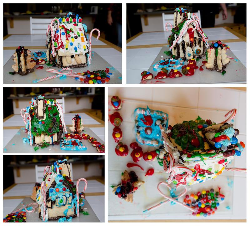 Final Sugar Cookie House 2017