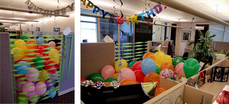 How Lynn Decorates for Birthdays