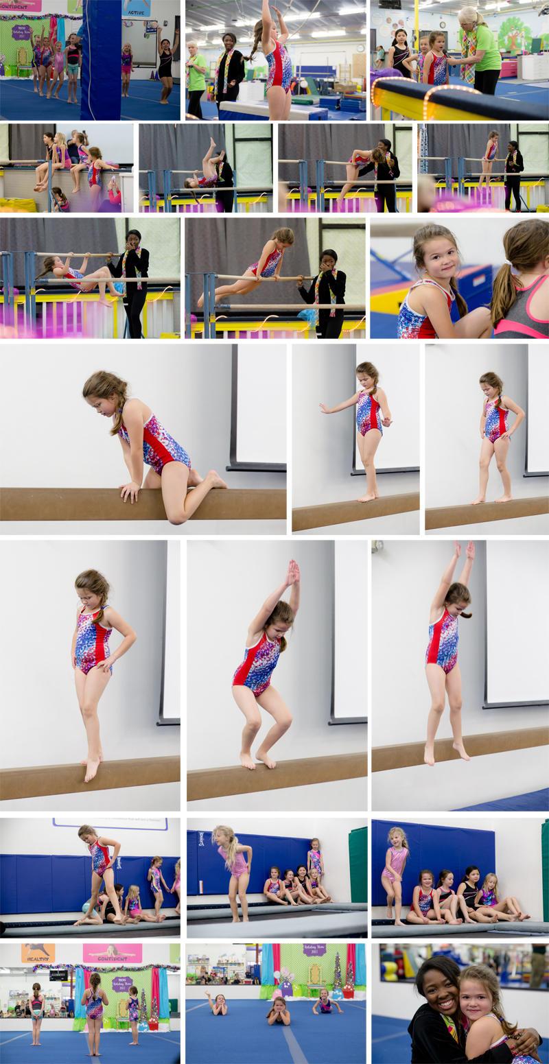 Abby's Gymnastics Holiday Performance