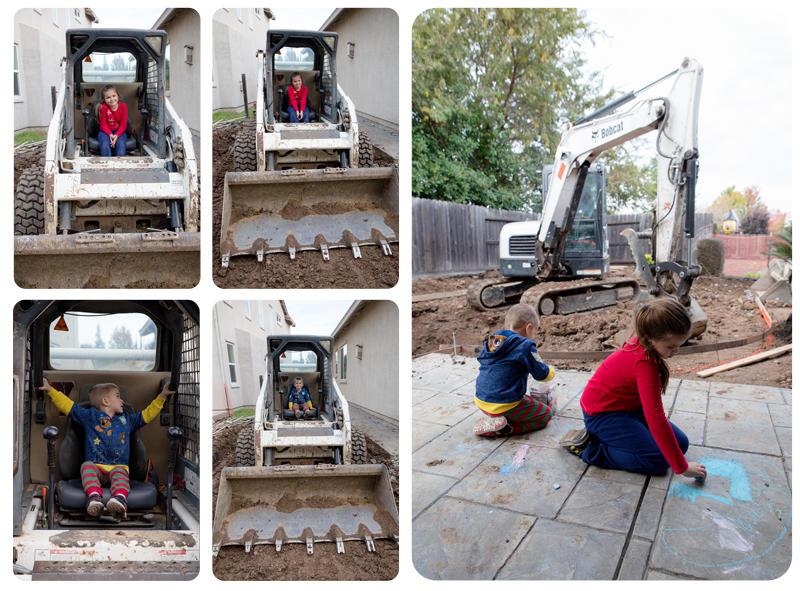 Kids in the Bulldozer