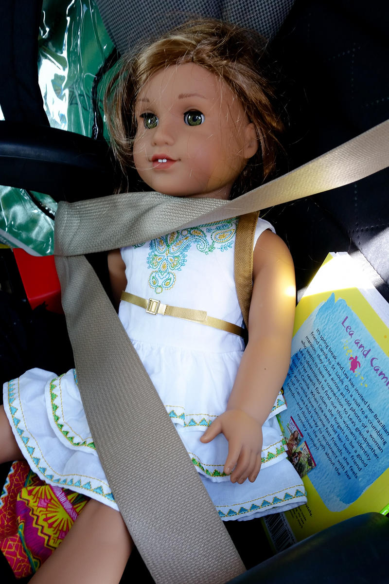 Lea Strapped In