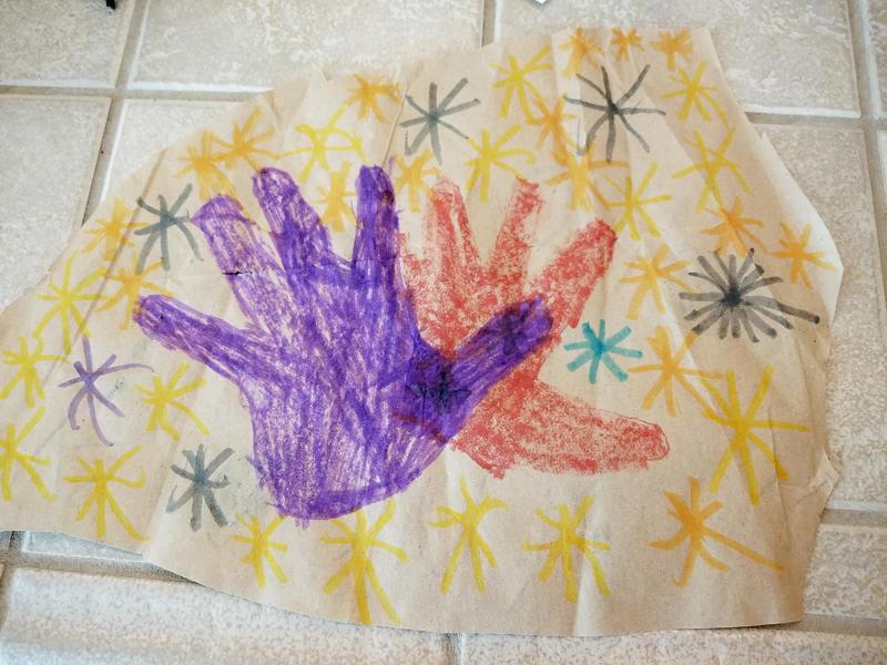 Kids' Handprints