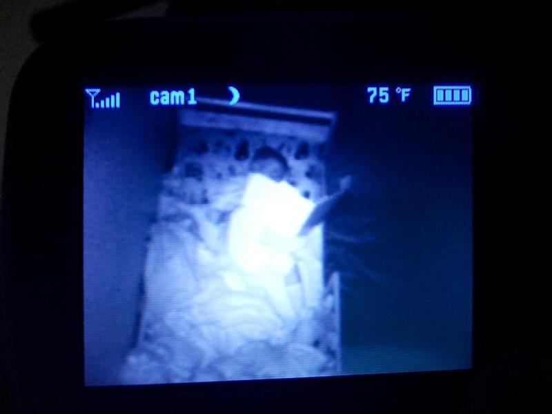 Reading in Bed in the Dark