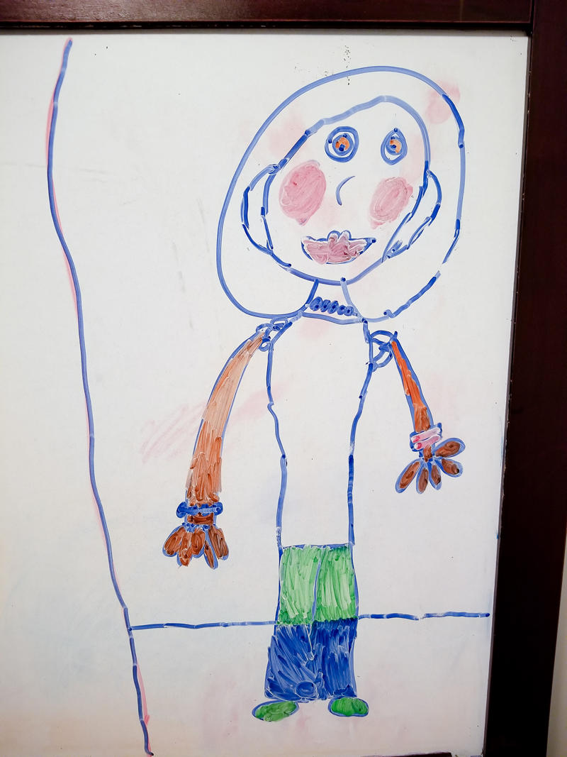 Abby's Self Portrait