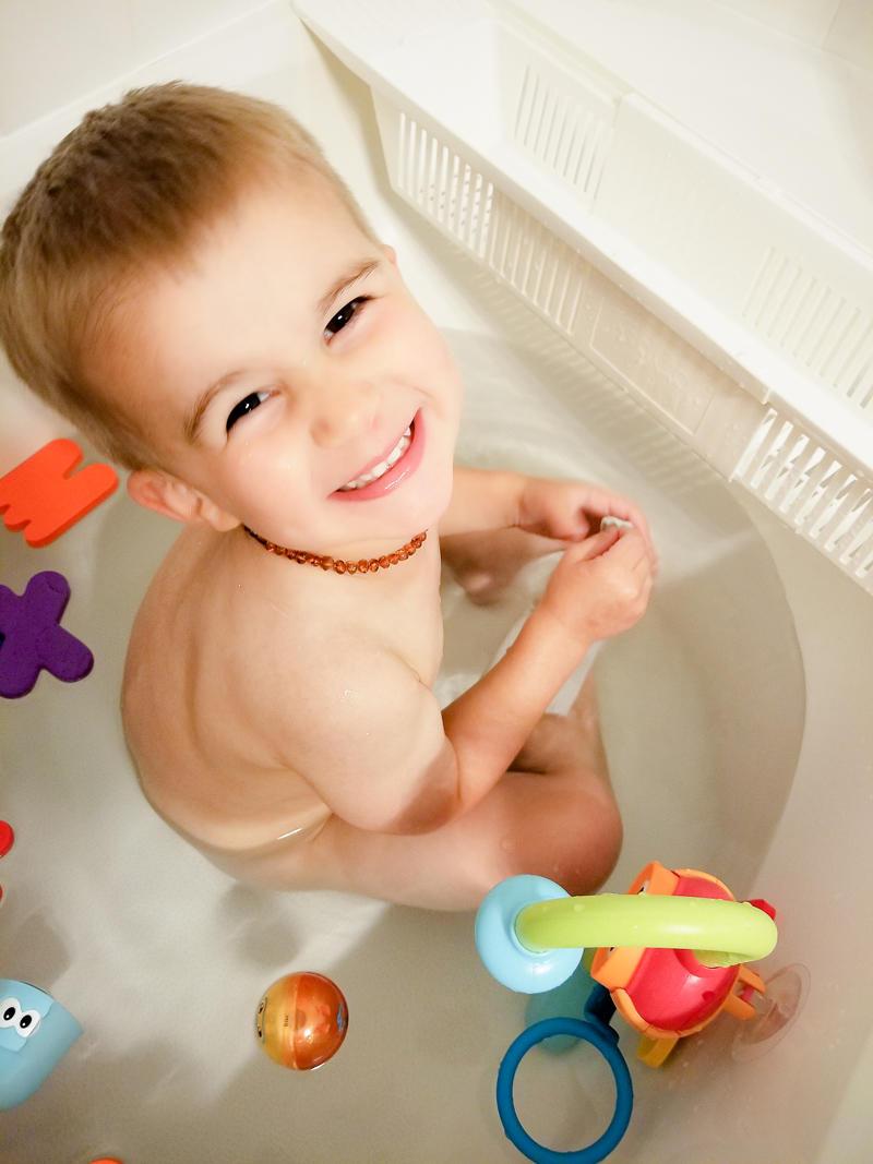 Enjoying Bathtime