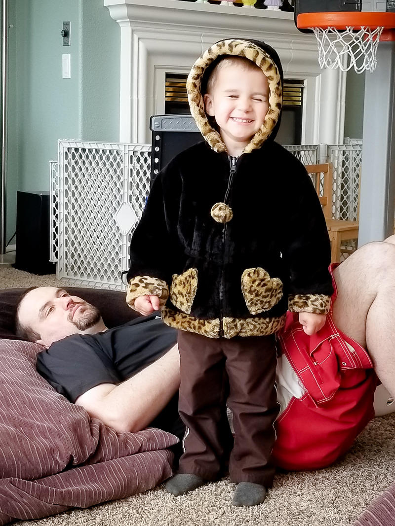 Silly Toddler Jacket