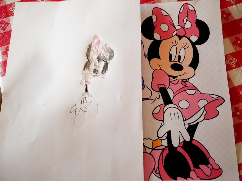 Minnie Mouse Drawing