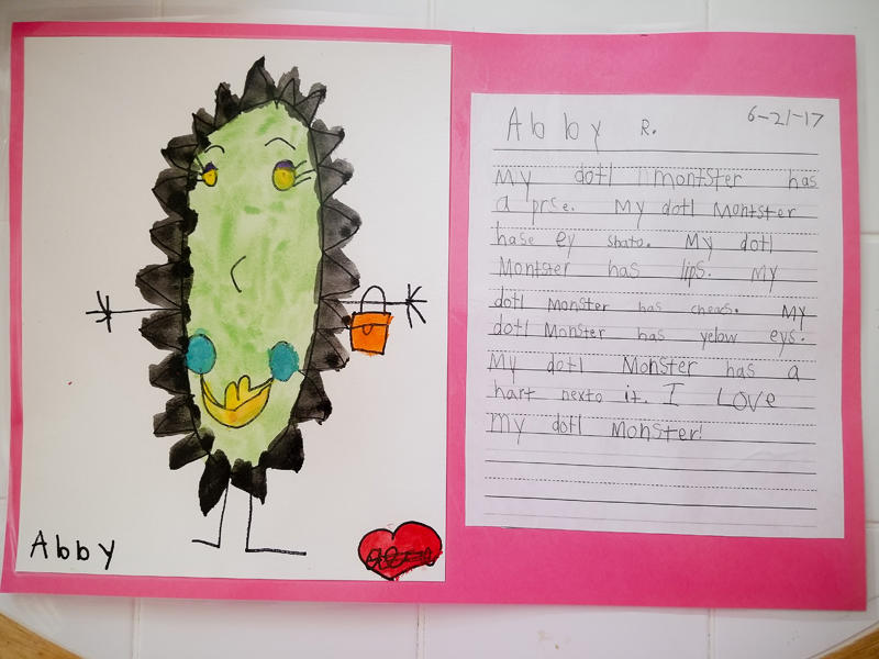 Abby's Doodle Monster