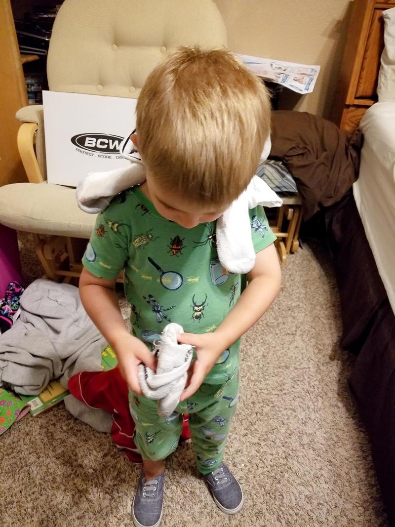 Wearing Dad's Dirty Socks