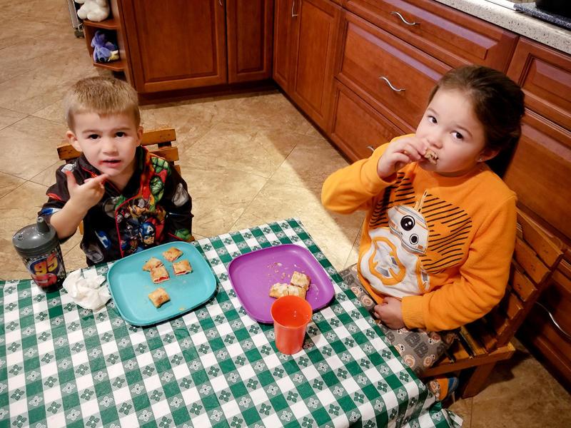 Toaster Strudels for Breakfast