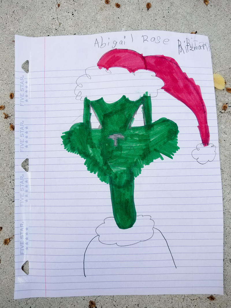 The Grinch - Guided Drawing