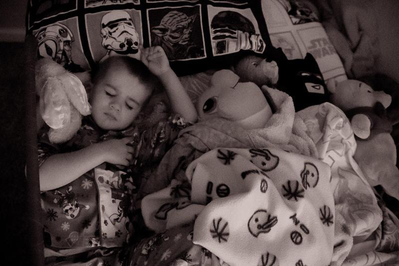 Sweet Sleeping Boy