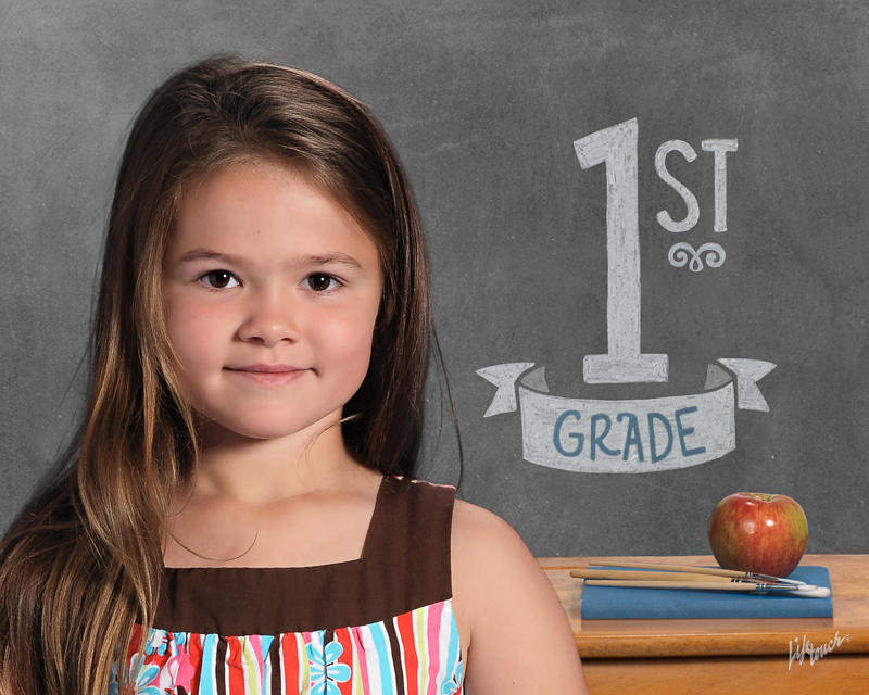 Abby's 1st Grade School Photo